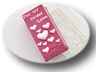 Пластиковая форма для мыла Любовь 2