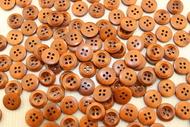 Пуговицы деревянные 13мм, коричневый