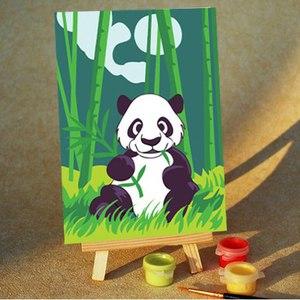 Набор для раскрашивания по номерам Панда