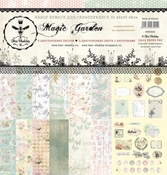 Набор бумаги для скрапбукинга  MAGIC GARDEN 30.5 на 30.5