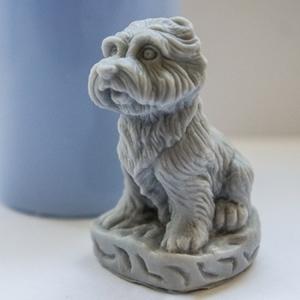 Силиконовая форма Маленький пес 3D 35 гр